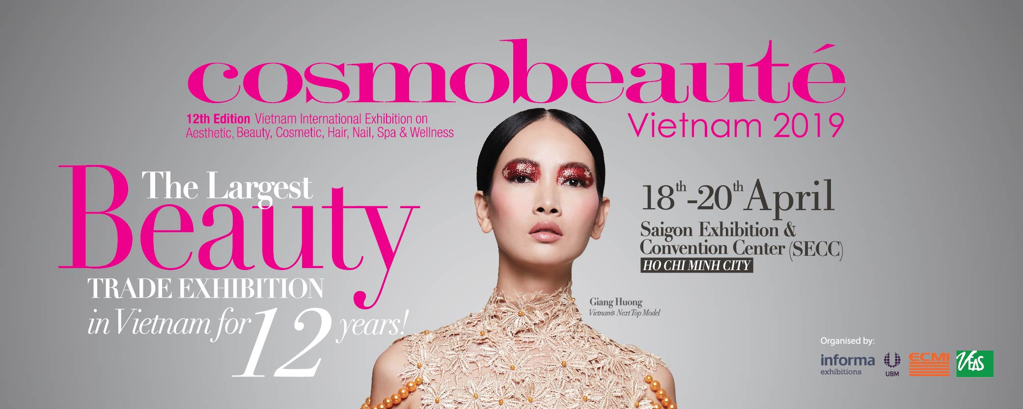 2019 Vietnam Cosmobeaute expo - Laser Hair Removal